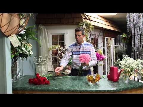 5 Minute Florals - Carnation Arrangement