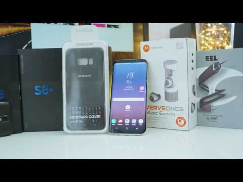 Samsung Galaxy S8+ Accessory  Review (S8+ Keyboard case, VerveOnes Music Edition, and EEl Headset)