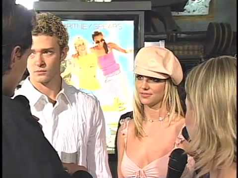 Rare Britney Spears And Justin Timberlake - Interview