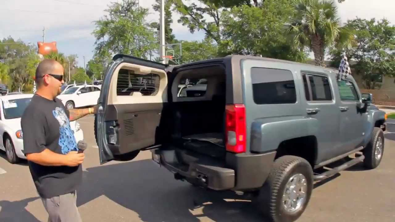 Autolines 2006 hummer h3 walk around review test drive youtube vanachro Image collections