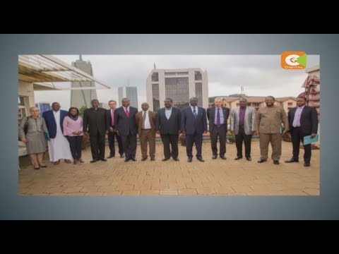 Odinga meets envoys, religious leaders