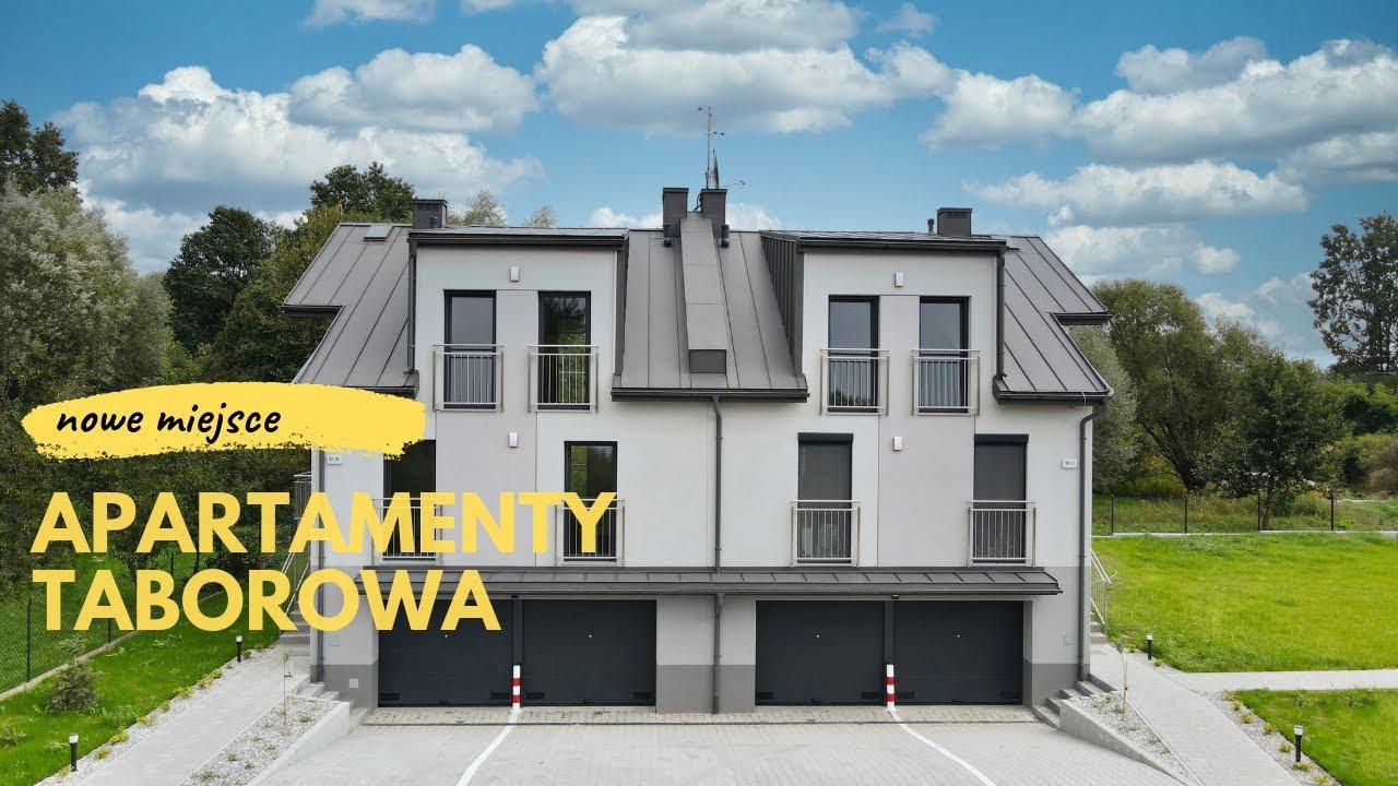 [dron] Apartamenty Taborowa w Krakowie - rodzinne mieszkania z piwnicą i garażem