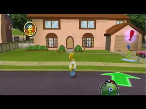 Old School: Les Simpsons Hit and Run Francais