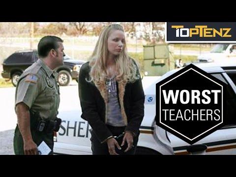 Top 10 HORRIFYINGLY Bad TEACHERS
