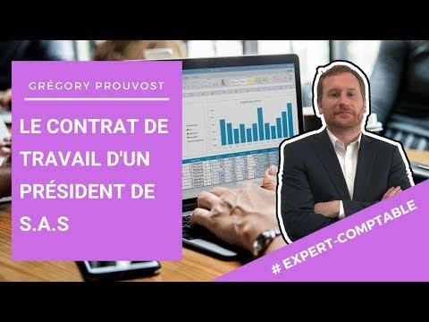[PRESIDENT DE SAS & CONTRAT DE TRAVAIL] - Conseil d'expert comptable aux entrepreneurs