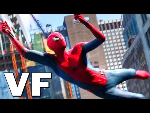 SPIDER-MAN FAR FROM HOME Bande Annonce VF (2019)