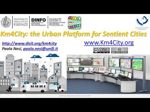 Km4City the Urban Platform for Sentient Cities, MajorCities Zagreb