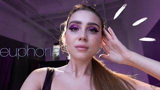 НЕДЕЛЯ ВЛОГОВ #7 макияж из сериала Эйфория