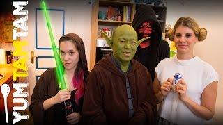 Star Wars Snacks // Yoda-Soda, Stormtrooper und essbare Lichtschwerter // #yumtamtam