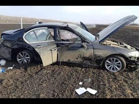 25.12.2019г. BMW перевернулась на высокой скорости на глазах у очевидца. Видео с места проишествия