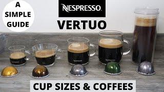 Nespresso Vertuo Cup Sizes