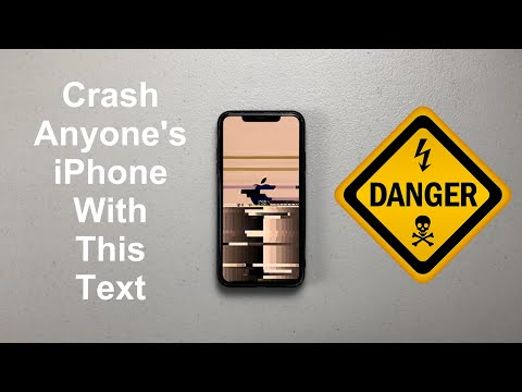 Crash Anyone's iPhone With This Text