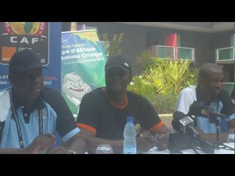 AFCON 2012: Botswana Team Press Conference Part II