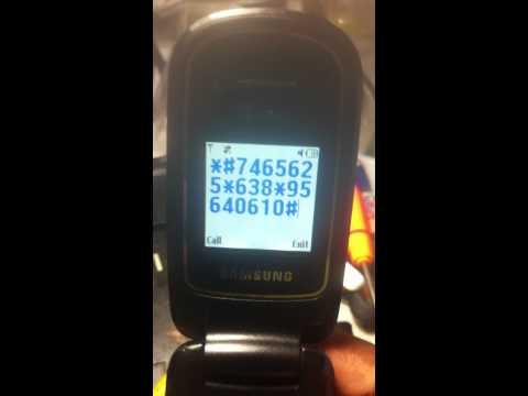 sgh a107 unlock card worng