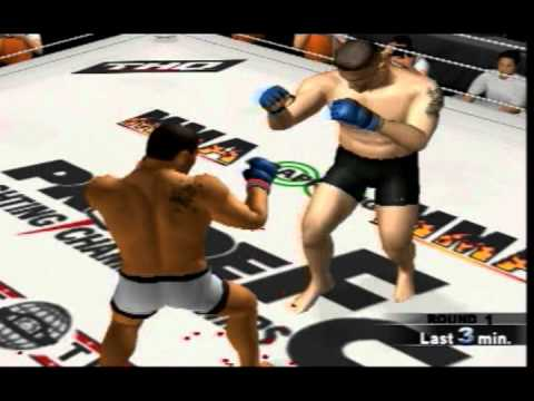 Pride FC PS2 Fictional Grand Prix 2012 Simulation