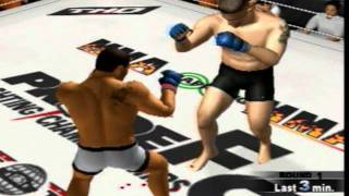 Pride FC PS2 Fictional Grand Prix 2012 Simulation