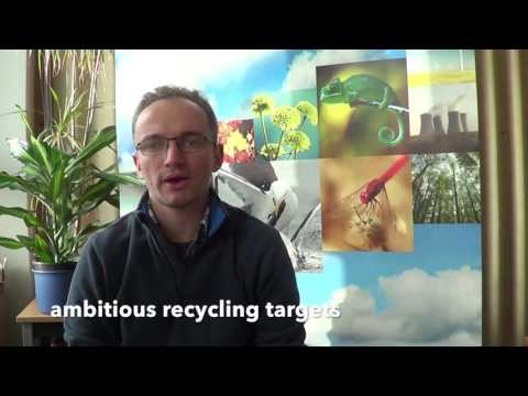 EEB's Piotr Barczak gives his view on upcoming European Parliament waste vote