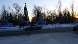 Позорная ёлка ленинского района, Барнаул.