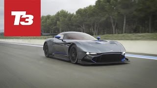 We take a test ride in the new Aston Martin track only supercar, th...