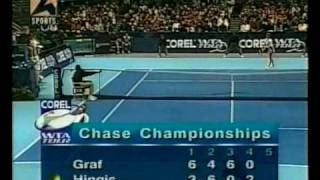 steffi graf vs martina hingis chase championship 1996 7 of 15