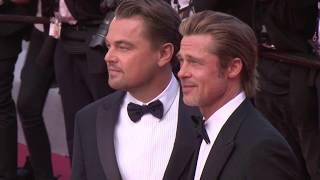 "Брэд Питт, Bradley Pitt, Leonardo DiCaprio, Quentin  Tarantino, -  ""Однажды в Голливуде""."