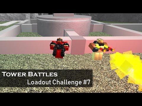 Dual Wielding   Loadout Challenge #7   Tower Battles [ROBLOX]