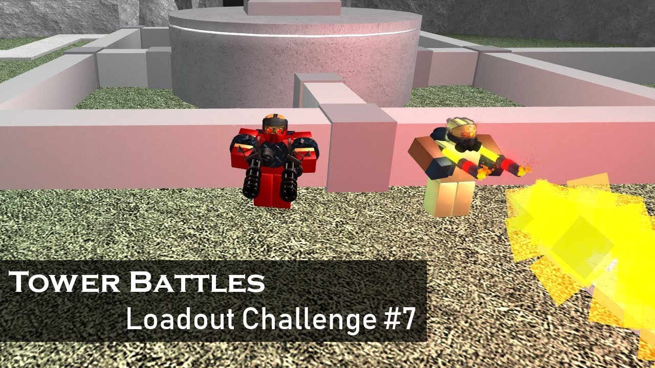Dual Wielding Loadout Challenge 7 Tower Battles Roblox