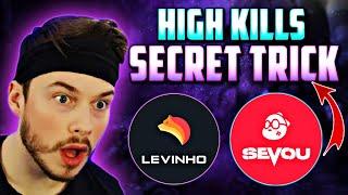 Levinho \u0026 Sevou's Best Trick For High Kills In PUBG MOBILE || How Youtubers Make High Kills Gameplay
