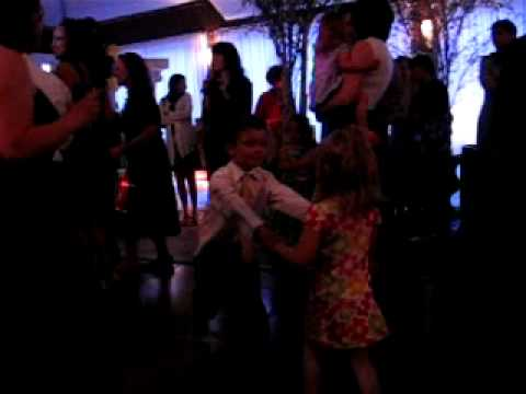 Sophie and Andrew Dancing at Leah's Wedding