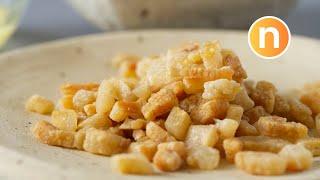 Crispy Pork Lard | 猪油渣 : Crispy and fragrant - How to by Nyonya Cooking