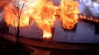 Incendio en Huépil