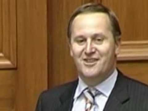 National Party John Key Seabed Foreshore