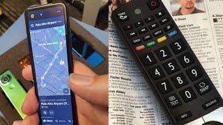 Andy Rubin Shows Remote Control Smartphone Design