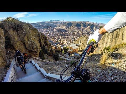 Urban DH. La Paz, Bolivia