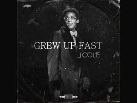 J. Cole - Grew Up Fast [HQ] Instrumental