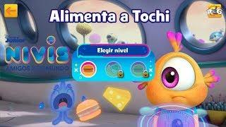 Nivis Amigos de otro Mundo | Alimenta a Tochi | Disney Junior