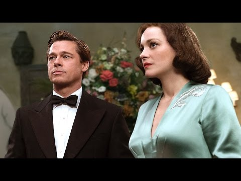 ALLIED Official TRAILER (Brad Pitt, Marion Cotillard - Drama, Romance, 2016)