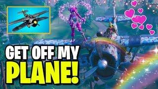 Get off my plane BLAZE! Fortnite Season 7