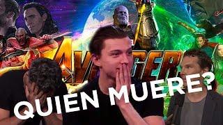 El elenco de Avengers Infinity War revela spoilers sin parar