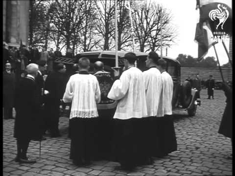 Funeral Of Queen Amelia Of Portugal 1951