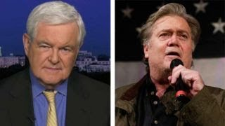 Gingrich: Bannon's war against Republicans is 'absurd' thumbnail