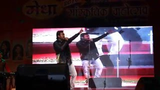 Doorie sahi jaye na by gaurav in medha fest 2k16 with Band Ehsaas