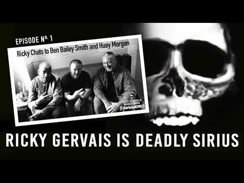 RICKY GERVAIS is DEADLY SIRIUS #01
