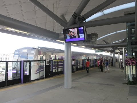 MRT Purple Line now is opening in Bangkok