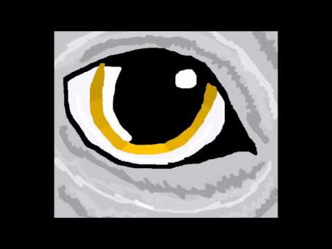 How to draw a wolf eye easy tutorial ms paint youtube ccuart Image collections