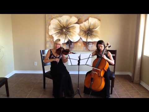 Violin and Cello Duet  Plays Thousand Years