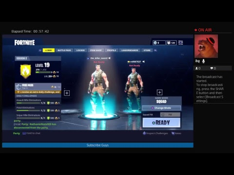 Fortnite With Nathaniel And Killer Kid sensation