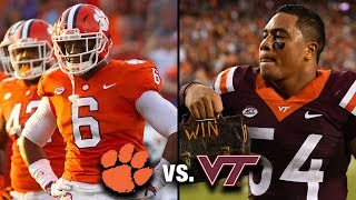 Clemson vs. Virginia Tech Football Highlights (2017)