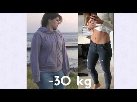 SCHNELL ABNEHMEN - SO HABE ICH 30 KG ABGENOMMEN || BODY TRANSFORMATION - VORHER NACHHER BILDER