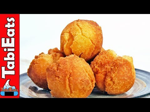 How to Make SATA ANDAGI (OKINAWAN DONUTS RECIPE)